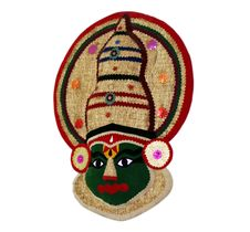 Free Kathakali Face Handicraft Stock Photos - 27992943