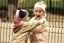 Free Little Lovely Funny Kids Royalty Free Stock Photography - 27998447