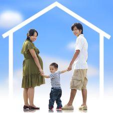 Free Happy Family Stock Photography - 27998942