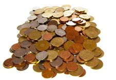 Free Romanian Coins Royalty Free Stock Image - 27999036