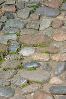 Free Old Cobbles Royalty Free Stock Photography - 280357