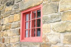 Free Small Red Window Royalty Free Stock Photos - 280668