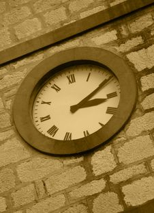 Free Church Clock Stock Photography - 281622