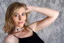 Blond Woman No.6 Royalty Free Stock Photo