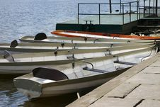 Free Rowing Boats Royalty Free Stock Photography - 287267