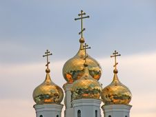 Free Church Cupolas Royalty Free Stock Photography - 288667