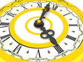 Free Clock. Four O Clock Royalty Free Stock Photography - 2804337