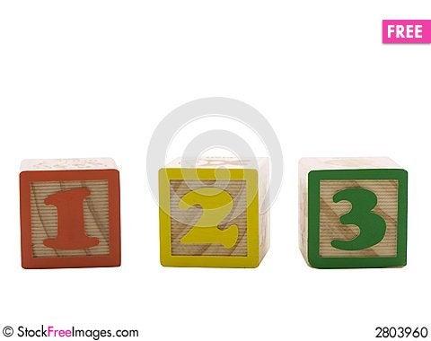Free One, Two, Three Stock Photo - 2803960