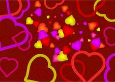 Free Heart Mania Royalty Free Stock Image - 2801266