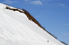 Free Climbing The Slope Stock Photography - 2801672