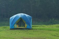 Free Blue Tent Stock Photos - 2801963