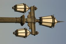 Free Lamp Post Royalty Free Stock Photos - 2802658