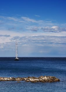 Free Sailing In Antibe Stock Photography - 2803752