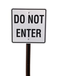 Free Do Not Enter Stock Photo - 2803950