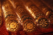 Free Gold Coins Royalty Free Stock Images - 2804309