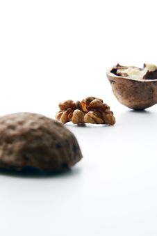 Free Nut Ingredient Royalty Free Stock Image - 2804456