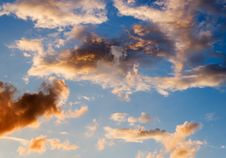 Free Sky After Summer Storm Royalty Free Stock Photos - 2805508