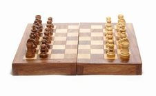 Free Chess Set Stock Photography - 2805912