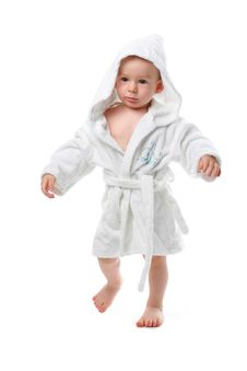 Free Child In A Dressing Gown Stock Images - 2805954