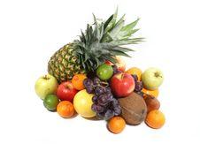 Free Fruits Isolated On White Royalty Free Stock Image - 2805956