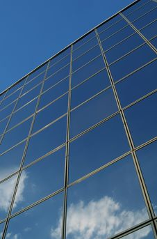 Free Reflection In Building Windows Stock Images - 2806164