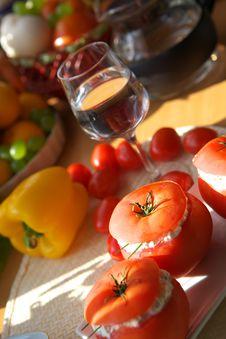 Free Vegetarian Appetizer Stock Images - 2807564