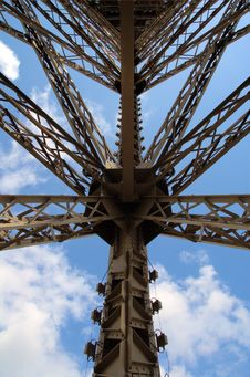 Free Construction Of  Tour Eiffel Royalty Free Stock Photography - 2808417