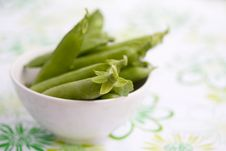 Fresh Peas Royalty Free Stock Images