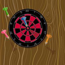 Free Dart Bullseye Stock Images - 2808544