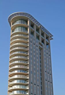 Free Curved Condos Royalty Free Stock Images - 2808659