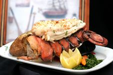 Free Broiled Lobster Reminiscing Stock Photos - 2808783