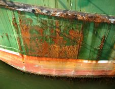 Free Rusty Trawler Royalty Free Stock Photos - 2808938