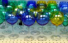 Free Crystal Glasses Royalty Free Stock Photography - 2809057