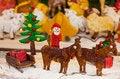 Free Christmas Ginger Bread Scene Royalty Free Stock Image - 28006716