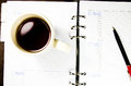 Free Tea Cup With Notebook Royalty Free Stock Photos - 28009438