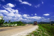 Free The Road Laos. Stock Photos - 28004853