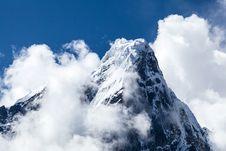 Free Himalaya Mountains Landscape, Nepal Stock Image - 28006121