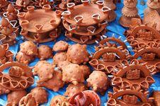 Free Rajasthani Potteries Style Stock Image - 28007791