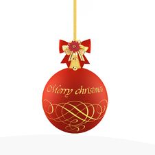 Free Christmas Ball Royalty Free Stock Images - 28008979