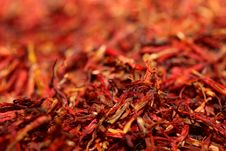 Free Dried Red Saffron Stock Images - 28009084