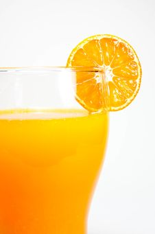 Free Orange Juice And Slice Stock Photos - 28009393