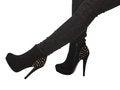 Free Black High Heels Royalty Free Stock Image - 28015266