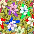 Free Decoration Element. Floral Style. Seamless. Royalty Free Stock Photography - 28017747
