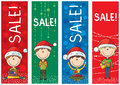 Free Christmas Sale Banners Stock Images - 28018954