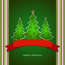Free Christmas Card Royalty Free Stock Photo - 28011615
