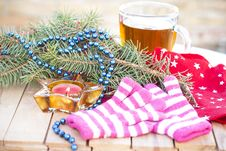 Free Christmas Decorations Stock Photos - 28012503