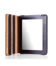 Portable E-book Reader  On White Royalty Free Stock Photos