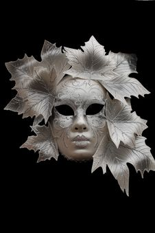 Free Venetian Mask Royalty Free Stock Image - 28018296