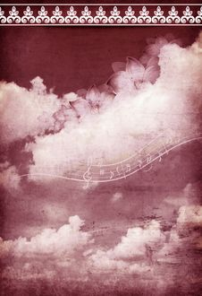 Free Musical Sky Stock Photography - 28019482