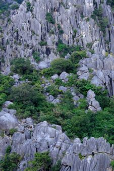 Free Close Up Of Carbonate Mountain Stock Photography - 28019942